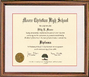 Novelty Certificates Home School Diplomas And Degrees